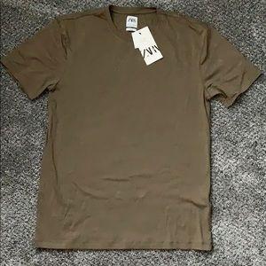 Zara Slim Fit T Shirt